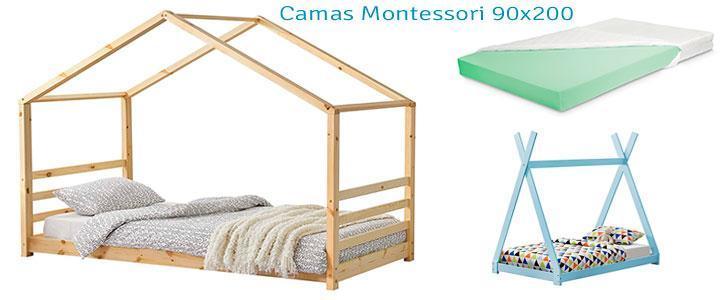 Camas Montessori 90x200