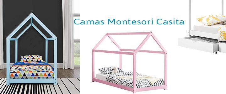 Camas Montesori casita