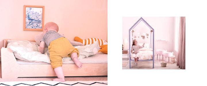 Hasta que edad usar las camas Montessori